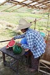Myanmar watermelon (jumbokedama) Tags: mawlamyine nwalabo myanmarmarkets