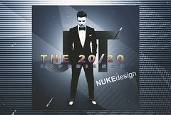 20/20 Experience (*Nuke*) Tags: justin cd timberlake cover experience manip blend 2020