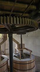 Holgate Windmill - stone floor (6) (nican45) Tags: york slr mill windmill canon yorkshire grain sigma wideangle machinery millstone restoration dslr flour 1020mm gears 1020 shaft holgate 600d stonefloor hwps 1020mmf456exdc holgatewindmill eos600d stonesfloor