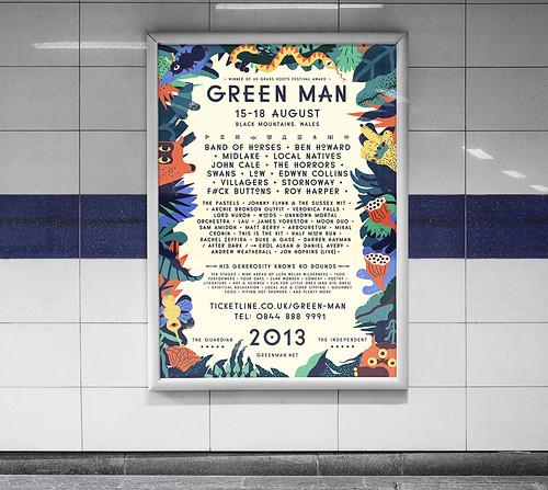 GreenManPoster