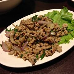 ลาบหมู | Spicy Minced Pork Salad @ โคขุน โพนยางคำ เกษตร-นวมินทร์ ราชพฤกษ์ | Kokhun Ponyangkam