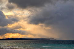 Pyramid Point ... sunset 3-20-13 (Ken Scott) Tags: winter sunset usa clouds march michigan lakemichigan greatlakes hdr freshwater voted leelanau pyramidpoint goodharborbay 2013 sbdnl sleepingbeardunenationallakeshore mostbeautifulplaceinamerica