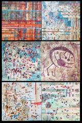 poliptico21mar (luis lara cabrera) Tags: abstract color art painting artwork arte abstracto pintura polptico