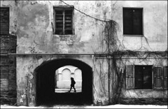 (spacephoenix) Tags: city blackandwhite bw film vintage photography nikon kodak stock grain streetphotography analogue nikonfe lithuania vilnius selfdeveloped trix400 id11 epsonv500