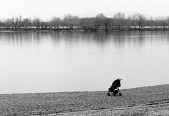 Alone (vizcsap) Tags: baby 35mm river spring nikon hungary alone riverside nikkor duna magyar danube magyarország 18g d7000 35mm18g nikond7000