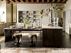 Painted kitchen cabinets: 'Hardwick White' by Farrow & Ball (SarahKaron) Tags: inspiration mountains kitchen interiors interior northcarolina ideas interiordesign housebeautiful kitchencabinets mountainhouse interiordesigner farrowball ericpiasecki paintedkitchencabinets ruardveltman