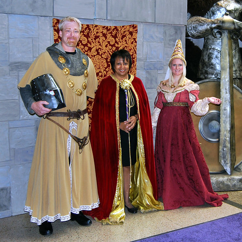 Library Royalty at the Fairy Tale Festival