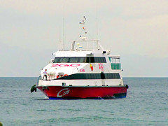 M/V Saint Uriel (*Irvine*) Tags: ocean trip travel sea ferry port marina island pier dock asia barco sailing ship pacific time philippines tourist cargo route arrive trips filipino voyager passenger batangas pinay filipina boracay southeast float backpacker departure ferries bora pinoy bollard roro visayas dagat montenegro pilipinas caticlan voyages traveler roxas berth turista anchored moored ply barko 2go odiongan karagatan mandaragat byahero manlalakbay