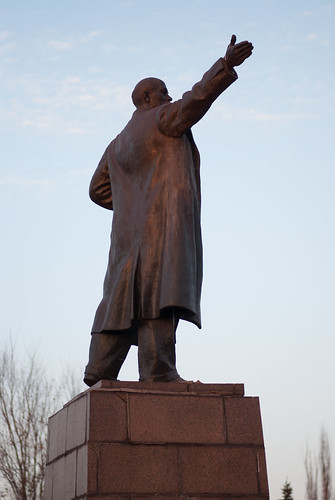 Lenin shows the way