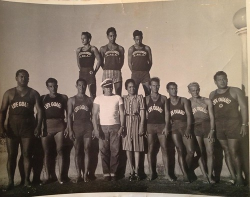 Natatorium Lifeguards from 1942