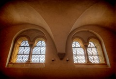 Windows 4 (Batram) Tags: world castle heritage germany hall europe kultur thuringia holy elisabeth saal heilig erbe wartburg eisenach welt