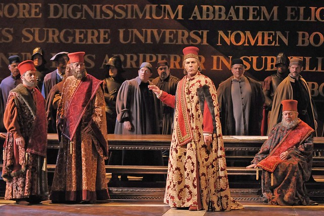 Thomas Hampson in Simon Boccanegra © Dan Rest/Lyric Opera of Chicago