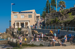 140413_0065 (amblerpix) Tags: blue beach clouds swimming fun surf day sunny australia bluesky newsouthwales swimmers tasmansea crowds sunbathing coogee lifeguards surfrescue autumnday coogeeslcclubhouse