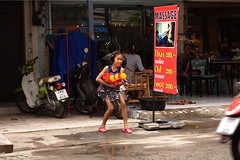 8954 Solo (Mishel Breen) Tags: road street new travel girls boy party people holiday men guy wet water festival children asian fun thailand happy dance women colorful asia gun shoot child play south traditional year culture happiness tourist spray east celebration event thai aim tradition splash cheerful celebrate throw throwing attraction breen pattaya songkran splashing aiming mishelbreen