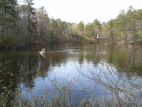 """Paddling on a pond at Chattahoochee Nature Center • <a style=""""font-size:0.8em;"""" href=""""http://www.flickr.com/photos/85839940@N03/8654047541/"""" target=""""_blank"""">View on Flickr</a>"""