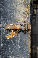 Cold no more (66/365) (Monikaiam) Tags: door old ontario canada building abandoned fridge rust decay urbanexploration rusted freezer decayed ruined urbex