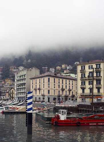 Como, as the mountain mist lifts