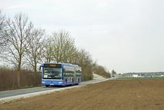 MVG-Gelenkbus 5405 in Aschheim (Frederik Buchleitner) Tags: bus munich münchen mercedes benz shuttle messe omnibus shuttlebus 5405 mvg bauma gelenkbus citaro messemünchen