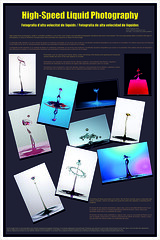 High Speed Photography Poster (1) (Pablo Bou) Tags: water poster agua drop gotas creatividad highspeed altavelocidad