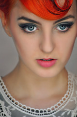 Dominika EXPLORE 88 th (la cegna) Tags: red beauty hair