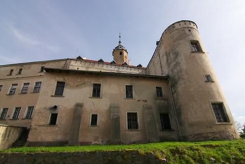 Zamek w Jaworze od zachodu