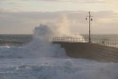Porthleven (SlinkeySi) Tags: uk sea storm cornwall waves porthleven stormysea wildsea