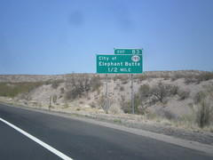 I-25 North - Exit 83 (sagebrushgis) Tags: newmexico sign intersection i25 truthorconsequences biggreensign freewayjunction nm181 nm195