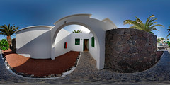 outside of bungalow No.6 , Las Gaviotas, Lanzarote, Canary Islands (Photon_chaser) Tags: