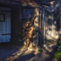 Shadows (DPRPhoto) Tags: streetscene santafe earlymorninglight