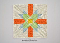 Star Of Awesome, Plus. (Jayne ~ Twiggy & Opal) Tags: miniquilt quilt paperpiecing handquilting machinequilting