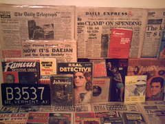 1950's - 1960's : (Retro King) Tags: 1959 retro 1966 british newspapers archive daily telegraph magazines comics records vinyl albums lps elvis 1950s
