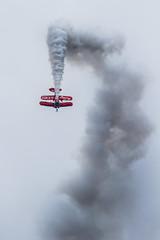 Pitts muscle biplane (markhortonphotography) Tags: plane display muscle aviation smoke airshow approach farnborough biplane aerobatics pitts farnboroughinternational gewiz richgoodwin fia16