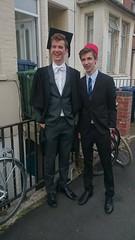 DSC_0408 (Mark Fielding) Tags: freddie graduation mansfield oxford university fez lachie