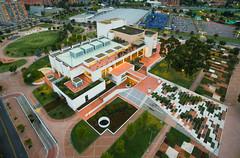 Biblioteca Julio Mario Santo Domingo - Bogot (Da.beat) Tags: dabeat vargas fotografia aerea 360 panoramica esferica dabeatvargas david 360diaries diaries hoteleria turismo viajes travel