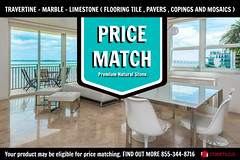 MARBLE TILE PRICE MATCH