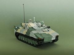 CV90 Mk. V (Aleksander Stein) Tags: lego military hagglunds cv90 ifv infantry fighting vehicle nordic afv ndc