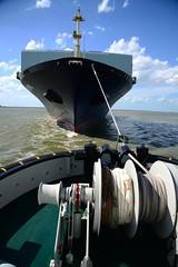 E.R. Tianping DST_4129 (larry_antwerp) Tags: ertianping 9305489 rickmers antwerptowage tug sleepboot      antwerp antwerpen       port        belgium belgi          schip ship vessel        schelde