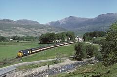 37414 Strathcarron (jbg06003) Tags: brblue largelogo class37 kyleoflochalsh hr tractor highlands