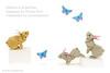 Rabbits & Butterflies (Koh) (cavemanboon*) Tags: rabbit rabbits ronaldkoh ロナルド・コウ origami 折り紙 兔 ウサギ paperfolding cavemanboon singapore malaysia butterfly butterflies theyewmeng2015 yewmeng boon 蝶々 チョウ 摺紙 折纸 许良财 origamiuniverse chimeimuseum 紙上奇蹟 奇美博物館 羅納德・許