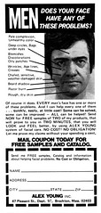 Does your face have any of these problems? 1977 ad (Tom Simpson) Tags: ad ads advertising advertisement vintage vintagead vintageads men face 1977 1970s problem