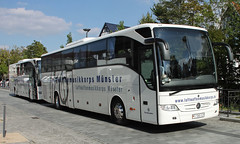 Bundeswehr Buses (Schwanzus_Longus) Tags: delmenhorst german germany new modern bus coach vehicle travel bundeswehr military army luftwaffe musikkorps luftwaffemusikkorps mercedes benz tourismo spotted spotting carspotting