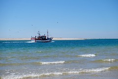 (Patrick Demeuter) Tags: beauchamp sea boat seagul fishing beach riaformosa ilhaarmona algarve portugal