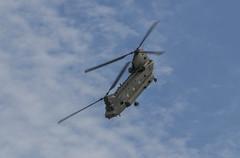RAF Chinook Display Team - RIAT 2016 (r.j.scott) Tags: royalinternationalairtattoo riat riat2016 royalairforce raf raffairford airshow aircraft airdisplay canon 550d chinook hc4 displayteam boeing ch47