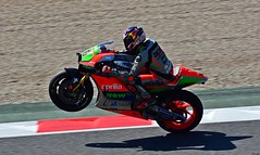 APRILIA / STEFAN BRADL / GER / APRILIA RACING TEAM GRESINI (Renzopaso) Tags: gran premi monster energy catalunya motogp 2016 circuit barcelona aprilia stefan bradl ger racing team gresini