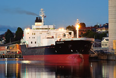 Goliath (AstroPenguin) Tags: goliath cement ship cementcarrier cementaustralia devonport tasmania maritime nautical csl canadiansteamshiplines boat d700