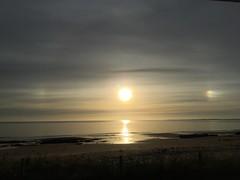 Morning Sun dogs, Scotland (Jim Sharpington) Tags: sundog