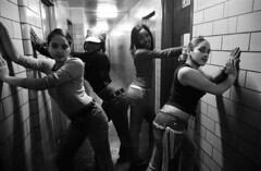 Gang Girls Posing. (A Gun & A Girl.) Tags: guns girls muscles arms shootingguns hotguns gunshotwounds blood gettingshot sexygirls hotgirls girlsshootingguns girlsgettingshotwithaguns girlswithguns