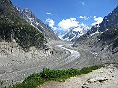 Mer de Glace (AmyEAnderson) Tags: merdeglace glacier france europe alps mountains snowcapped scenic view rhonealpes montblanc