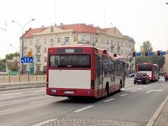 MAN EL263, #736, PKM Sosnowiec (transport131) Tags: bus autobus pkm sosnowiec kzk gop man el263 solaris urbino