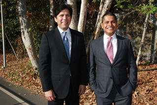 Miguel Santiago is endorsed by Senate President pro Tem Kevin de Leon